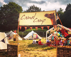 Glamping with Camel Camp