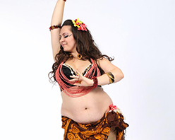Bellynesian (Hula Bellydance) with Shaddy at Barefoot Festival™ 2019